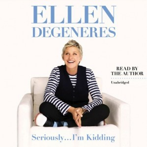 Reader: Ellen DeGeneres Short Review: Light and airy visit with the popular comedienne. Nothing too deep here, but it is fun to listen to Ellen share her upbeat cheerful thoughts and get a taste for her life beyond the public eye. Be prepared for some outright silliness.