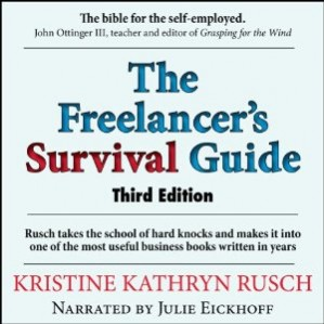 Reader: Julie Eickhoff Short Review: The ultimate guide to anyone considering going into a freelance business or already working as a freelancer. Filled with useful examples, good advice as well as commiseration.
