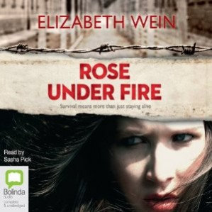 Reader: Sasha Pick Short Review: Elizabeth Wein continues the heart wrenching legacy begun by Codename: Verity. This is the story of Rose Justice, an American ATA pilot, who gets captured in by Nazis and is thrown into Ravensbrück concentration camp. What follows is a brutal story of trying to find hope in a hopeless situation. Wein delivers a book that will leave you emotionally spent, read by Sasha Pick.